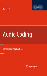 Cover of: Audio Coding | Yuli You
