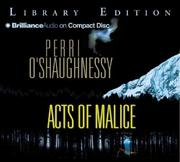 Cover of: Acts of Malice (Nina Reilly)