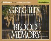 Cover of: Blood Memory