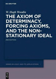 Cover of: The axiom of determinacy, forcing axioms, and the nonstationary ideal