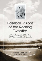Cover of: Baseball visions of the roaring twenties |