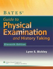 Cover of: Bates' guide to physical examination and history-taking