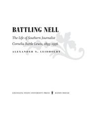 Cover of: Battling Nell | Alexander Leidholdt