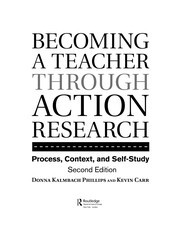 Cover of: Becoming a teacher through action research | Donna Kalmbach Phillips