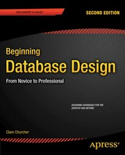 Cover of: Beginning Database Design | Clare Churcher