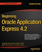 Cover of: Beginning Oracle Application Express 4.2 | Doug Gault