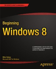 Cover of: Beginning Windows 8 | Mike Halsey