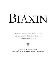 Cover of: Biaxin | James N. Parker