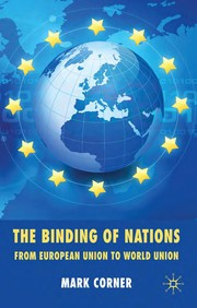 Cover of: The binding of nations | Mark Corner