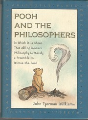 Cover of: Pooh and the philosophers | John Tyerman Williams
