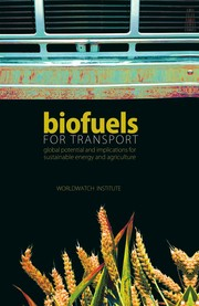 Cover of: Biofuels for transport