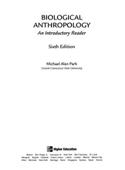 Cover of: Biological anthropology | Michael Alan Park