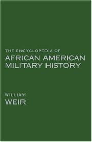 Cover of: The Encyclopedia of African American Military History