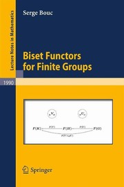 Cover of: Biset functors for finite groups