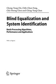 Cover of: Blind equalization and system identification |