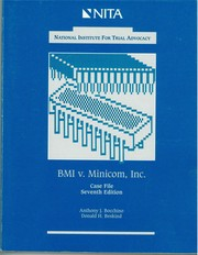 Cover of: BMI V. Minicom | Anthony J. Bocchino