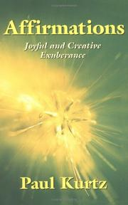 Cover of: Affirmations: Joyful And Creative Exuberance