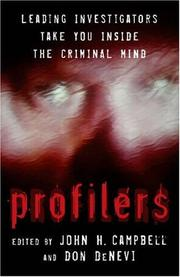 Cover of: Profilers |