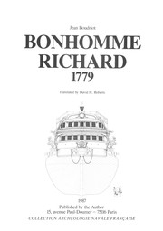 Cover of: Bonhomme Richard 1779