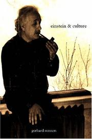 Cover of: Einstein And Culture