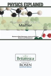 Cover of: The Britannica guide to matter | Erik Gregersen