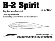 Cover of: B2 Spirit In Action