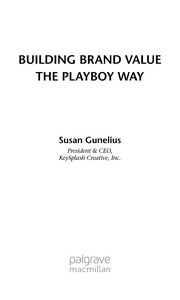 Cover of: Building brand value the Playboy way | Susan Gunelius