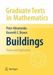 Cover of: Buildings | Peter Abramenko