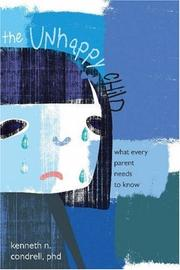 Cover of: The Unhappy Child