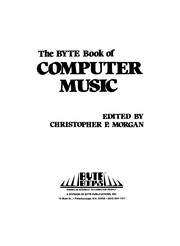 Cover of: The Byte book of computer music |