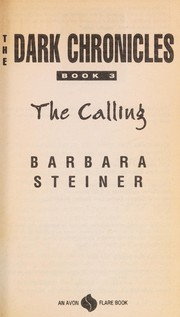 Cover of: The Calling (Dark Chronicles, No 3)
