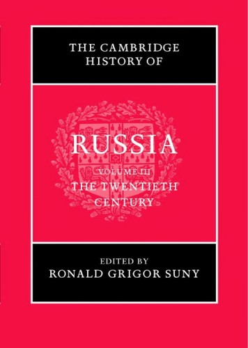 The Cambridge history of Russia by edited by Maureen Perrie.
