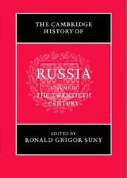 Cover of: The Cambridge history of Russia |