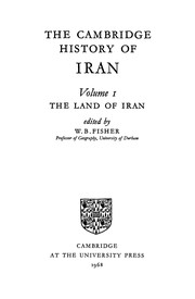 Cover of: The land of Iran | W. B. Fisher