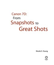 Cover of: Canon 7D | Nicole S. Young