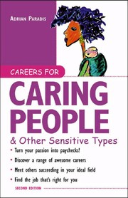 Cover of: Careers for Caring People & Other Sensitive Types |