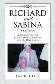 Cover of: Richard and Sabina | name missing