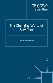 Cover of: The changing world of gay men | Robinson, Peter