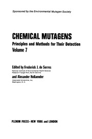 Cover of: Chemical Mutagens | Frederick J. Serres