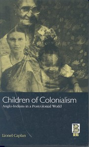Cover of: Children of colonialism | Lionel Caplan