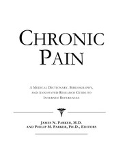 Cover of: Chronic pain | Philip M. Parker