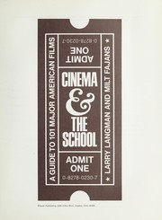 Cover of: Cinema & the school