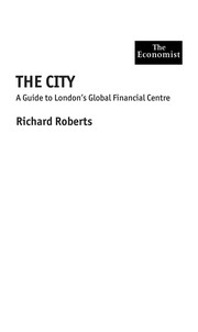 Cover of: The city
