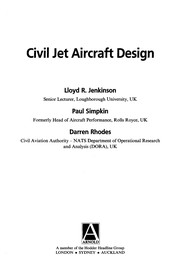 Cover of: Civil jet aircraft design | Lloyd R. Jenkinson