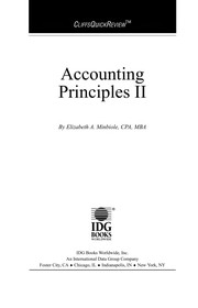Cover of: Accounting principles II