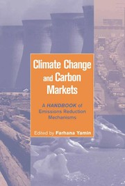 Cover of: Climate change and carbon markets |