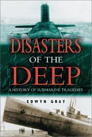 Cover of: Disasters of the deep