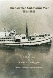 The German submarine war, 1914-1918