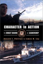 Cover of: Character in Action: The U.S. Coast Guard on Leadership