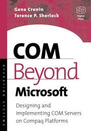 Cover of: COM beyond Microsoft
